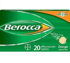Berocca Vitamina C 20 cápsulas