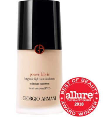 ARMANI BEAUTY Power Fabric Longwear High Cover Foundation SPF 25