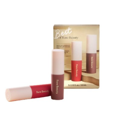 RARE BEAUTY Best of Rare Beauty Mini Lip Soufflé Matte Lip Cream Duo