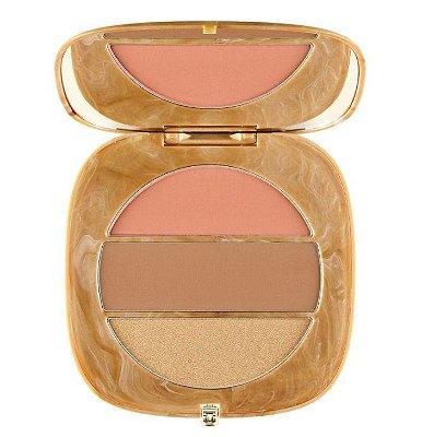 MARC JACOBS BEAUTY O!Mega x Three Powder Blush-Bronze-Highlight Palette