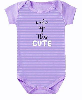 Body Bebê Cute Roxo - Bacci