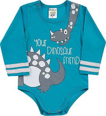 Body Dinosaur Friend Azul Clara - Fantoni