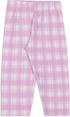 Legging Inverno Cotton Xadrez Rosa