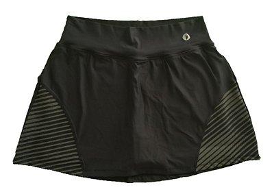 Shorts Saia Emana preto plus size
