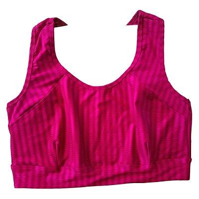 Top nadador zig rosa