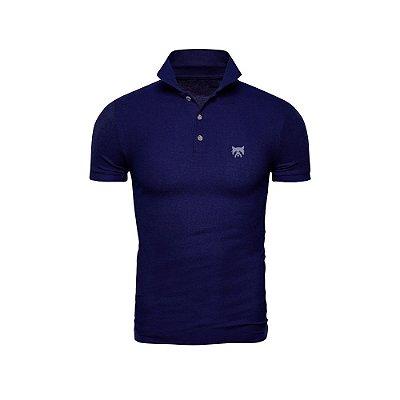 Camisa Polo Phox Premium Azul Marinho - 1010-03