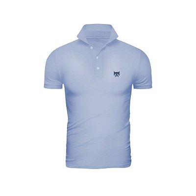 Camisa Polo Phox Premium Azul Jeans - 1010-07