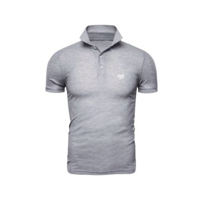 Camisa Polo Phox Premium Cinza Claro - 1010-05