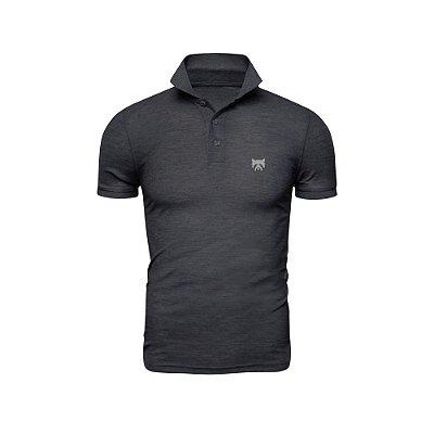 Camisa Polo Phox Premium Cinza Escuro - 1010-04