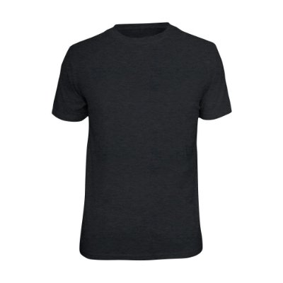 Camiseta Básica Lisa Phox Cinza Escuro - 1030 - 04