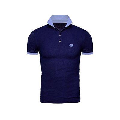 Camisa Polo Phox Gold Marinho/Azul Jeans - 1020--03