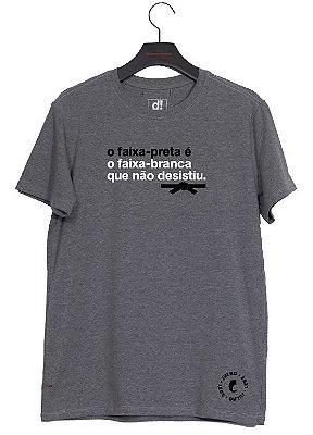 camiseta faixa preta - PRÉ-VENDA