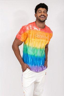 camiseta d! tie dye orgulho