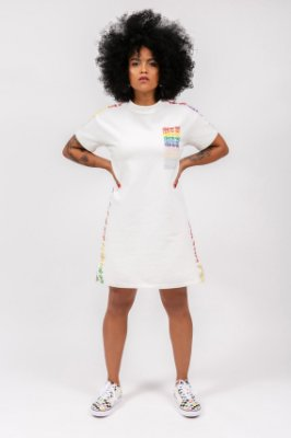 vestido mini d! orgulho
