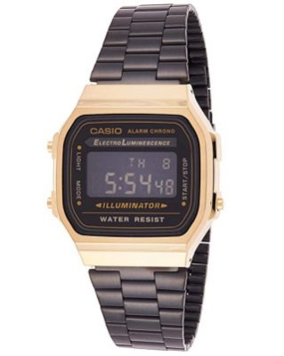 casio vintage black/gold