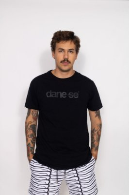 camiseta dane-se all black