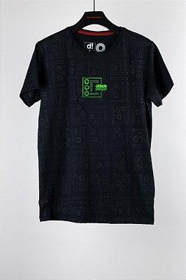 camiseta cidade parque preto
