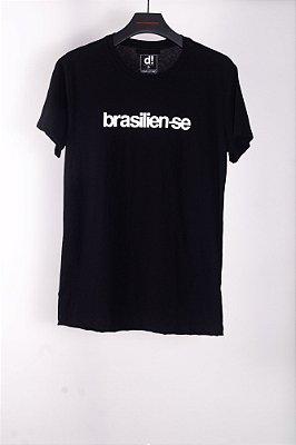 camiseta brasilien-se preto