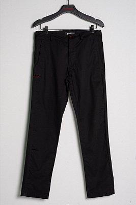 calça sarja preto