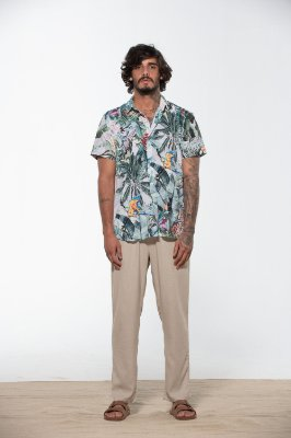 camisa tropical off