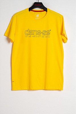 camiseta dane-se bsb amarelo