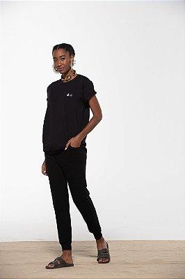 camiseta igrejinha comfy preto
