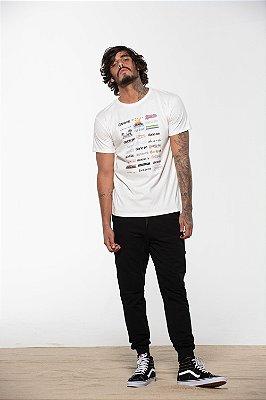 camiseta logo mania off