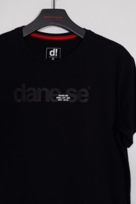camiseta dane-se stamp preto
