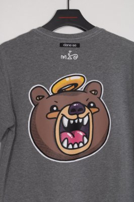 camiseta snoop 3x4 MÃO