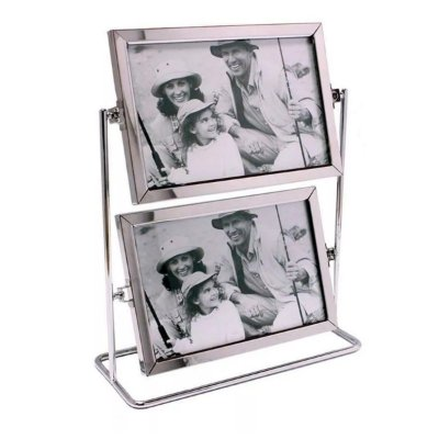 Porta Retrato giratório para 4 fotos vertical 10x15cm