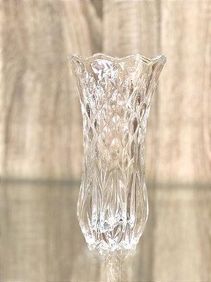 Vaso de Vidro Lapidado semente
