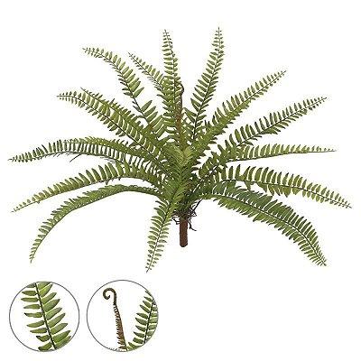 Samambaia verde 49cm