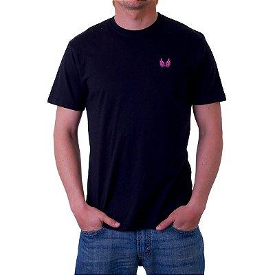 Camiseta Básica Asa Rosa