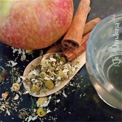 Camomila, maçã e canela 20g