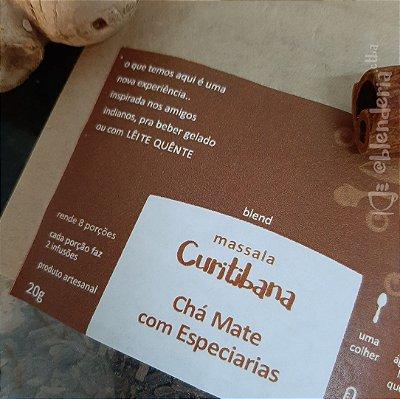 Massala Curitibana - Chá Mate com Especiarias 20g