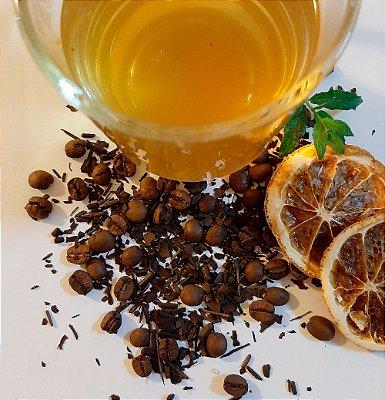 Tea with Coffee - Chá Mate com Café Franck's, Laranja e Hortelã 40G