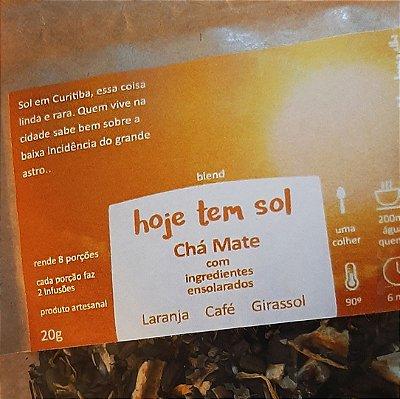 Hoje tem SOL - Chá Mate com ingredientes ensolarados 20g