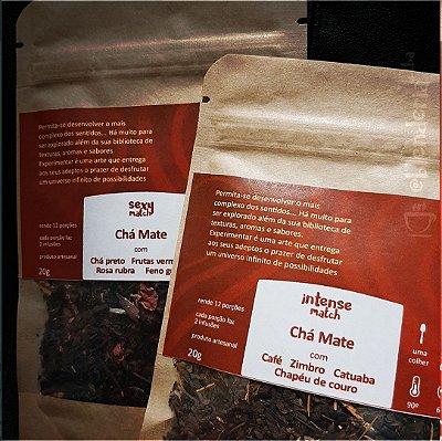Kit chá mate com ingredientes apaixonantes 40g
