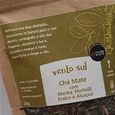 Vento Sul - Chá Mate com Menta, Hortelã, Endro e Alcaçuz 20g
