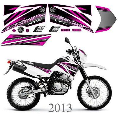 Faixa Lander 250 rosa grafismo 2013