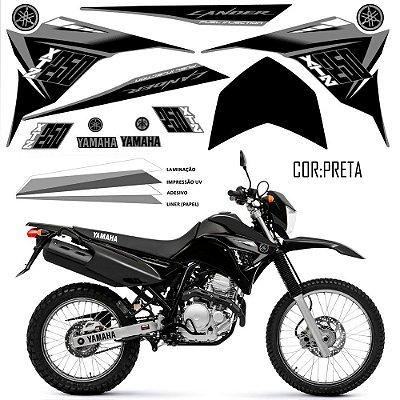 Faixa Lander 250 cinza grafismo 2015