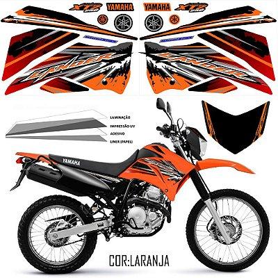 FAIXA Lander 250 laranja grafismo 2017 exclusivo