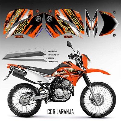 FAIXA Lander 250 laranja grafismo 2018