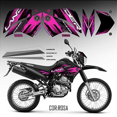 FAIXA Lander 250 rosa grafismo 2018