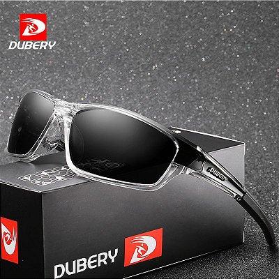 Óculos de sol translucid and black Dubery Polarizado