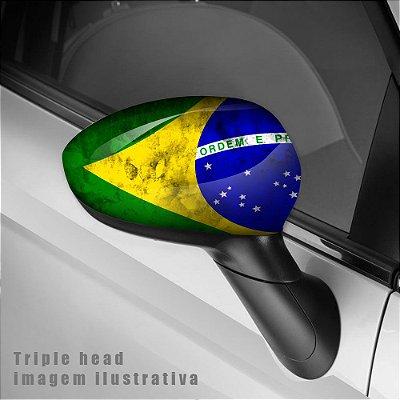 Badeira do Brasil envelopamento retrovisor
