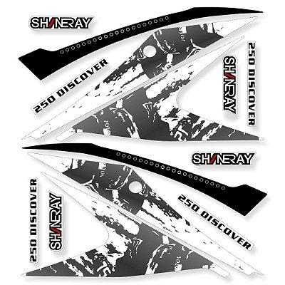 Faixa Shineray Discovery 250 Branca