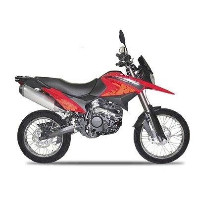 Faixa Shineray Discovery 250 vermelha