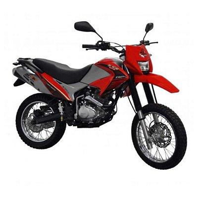 Faixa Shineray Gy Enduro 150cc  vermelha