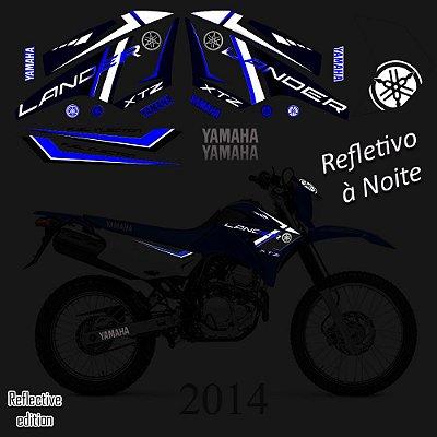 Refletiva faixa lander especial 2014 azul